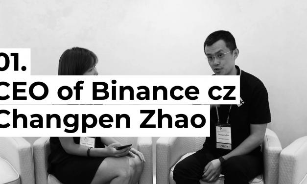 """[블록톡]창펑자오(Changpeng Zhao) """"전 세계에 거래의자유·투자의자유 보장하고 싶다"""""""