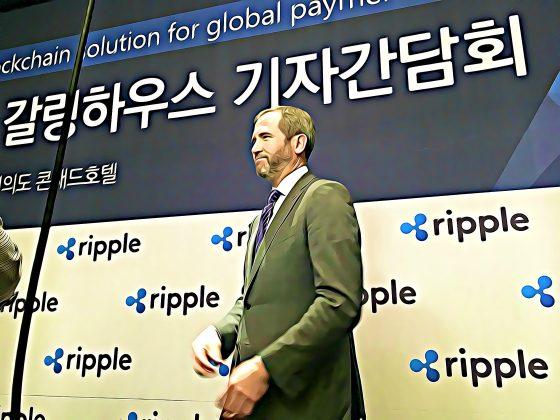 """리플 CEO, """"리플이 가진 세계관 공유 위해 한국 방문"""" – 기자회견 中"""
