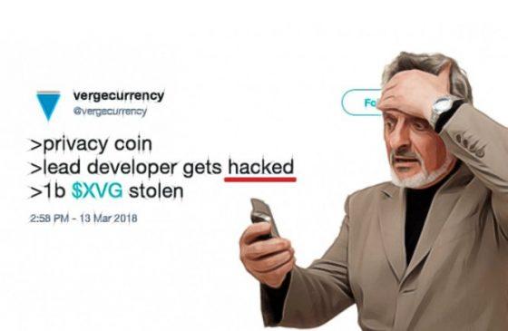 '보안' 강조 버지코인, 트위터 해킹 당해
