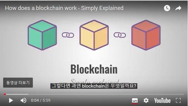 [What is block]블록체인은 무엇인가