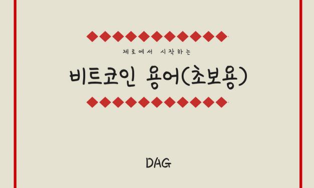 [비트코인 용어(29)] DAG