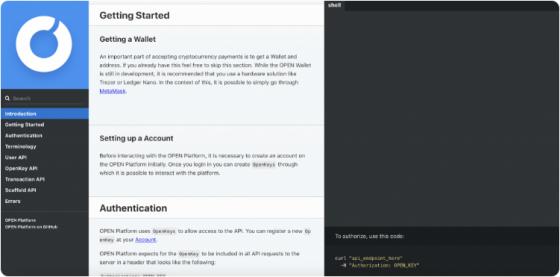 [press] 오픈플랫폼, API Documentation 활성화