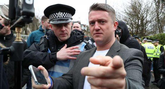 영국의 정치 운동가 토미 로빈슨, 비트코인 2만 파운드 기부받아