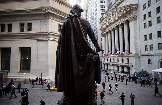 [뉴욕증시] IT-에너지 주도, 다우 세 자릿수 상승