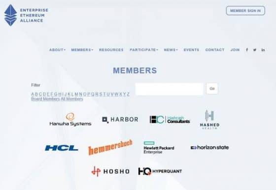 한화시스템, 글로벌 블록체인 단체 EEA 참여