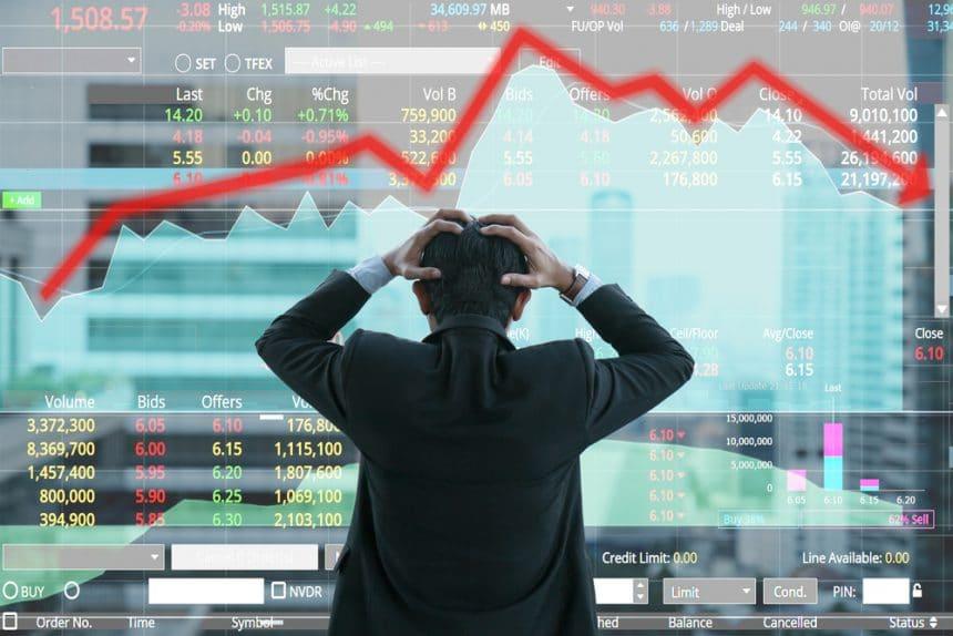 다우,나스닥,S&P500 등 미국증시도 줄하락..전통 금융도 '약세'