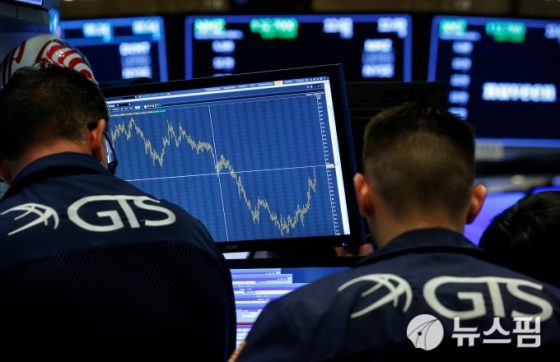 [뉴욕증시] 은행권 실적 호조에 블루칩 주도 상승