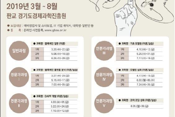 경기도, 3월부터 '블록체인 캠퍼스' 운영…전액 무료 교육