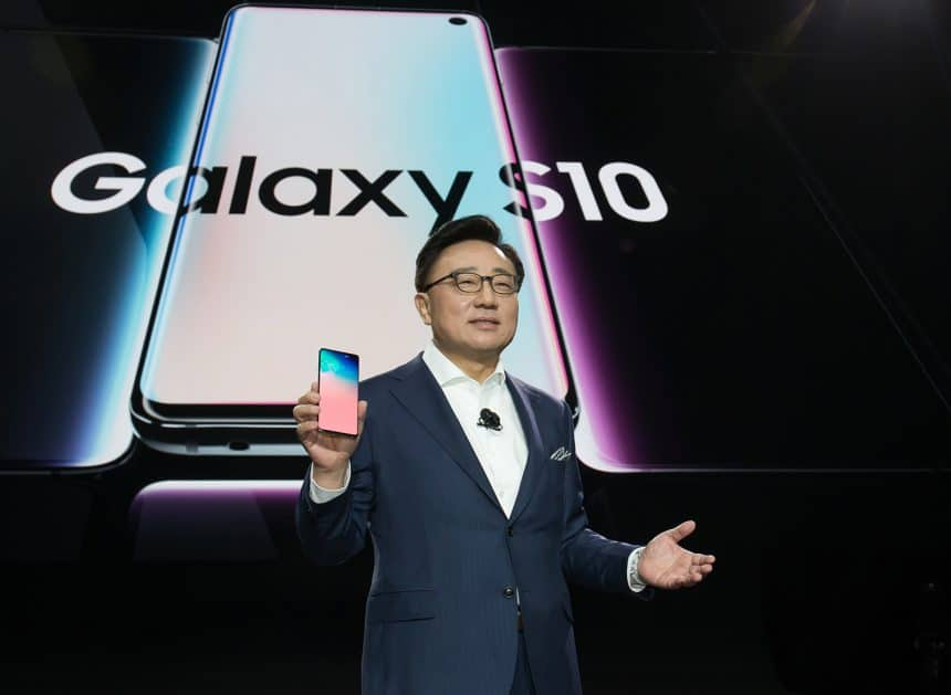 Samsung Galaxy 10 smartphones to install more blockchain services
