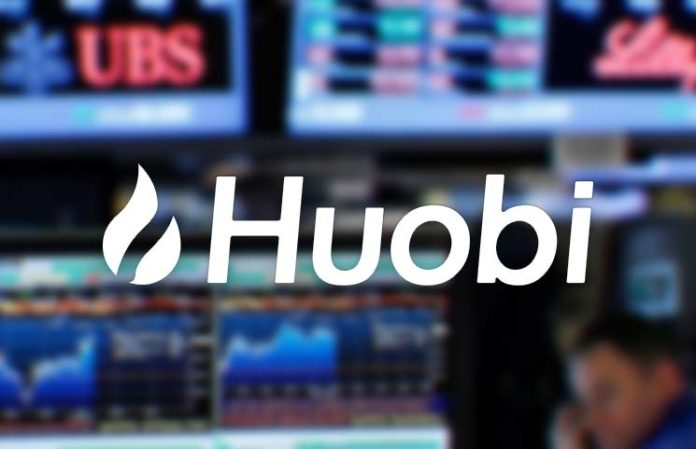 adToken listed on Huobi cryptocurrency exchange
