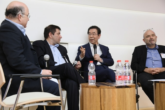 Seoul Mayor Park says military could become hub for venture startups