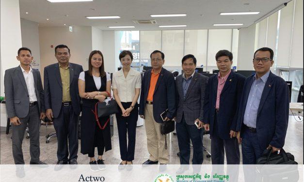캄보디아 정부, 피어(Peer)의 '액트투'와 블록체인 기반 핀테크 기술협력