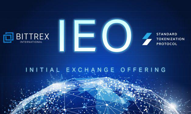STP 네트워크, 비트렉스 인터내셔널 IEO 프로젝트로 선정