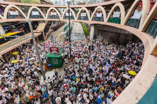 비트코인, 홍콩 시위로 안전자산 존재감 과시 … 홍콩 거래량 급증
