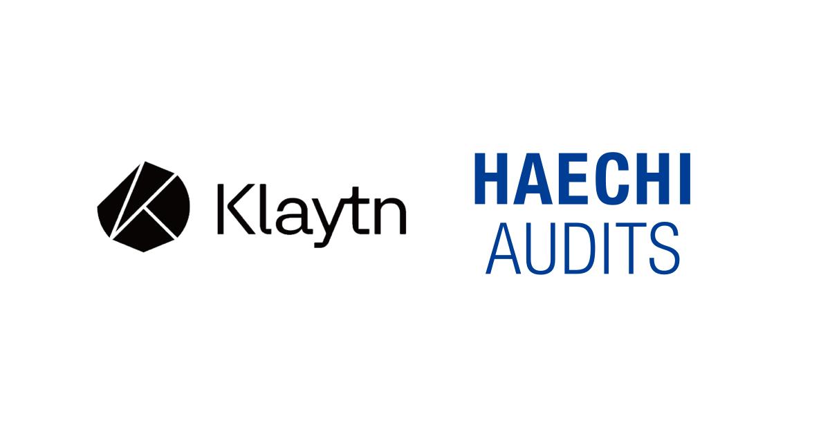 Haechi Lab to audit Klaytn blockchain main net