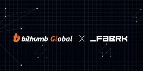 FABRK, 빗썸 글로벌 상장… 25일 거래 가능