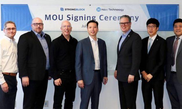 Hdac, StrongBlock ink partnership agreement
