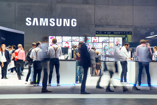 Samsung Coin trademark unrelated with Korean business giant