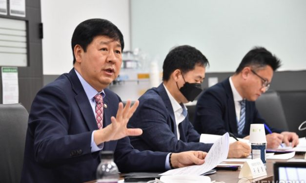 The best time to pursue advances in blockchain is right now, says the undersecretary Mr. YoonChul Gu