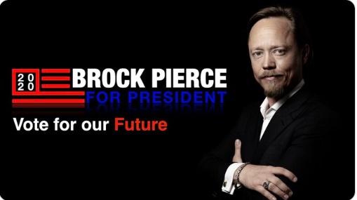 블록원 공동 설립자 브록 피어스 미국 대선 후보 등록