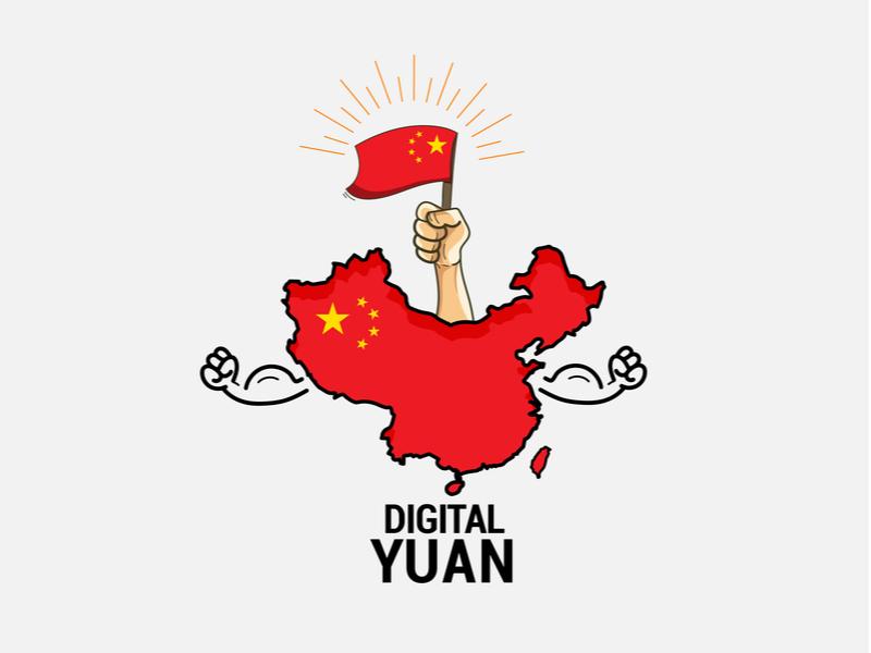 중국, 식료품 배달 플랫폼에서 디지털 위안 시험 희망