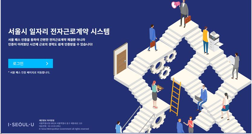 Seoul city, ready to launch blockchain based 'Electronic Labor Contract System'