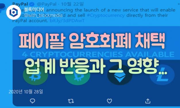 [트윗코인] 29화 – 페이팔 암호화폐 채택, 업계 반응과 그영향…
