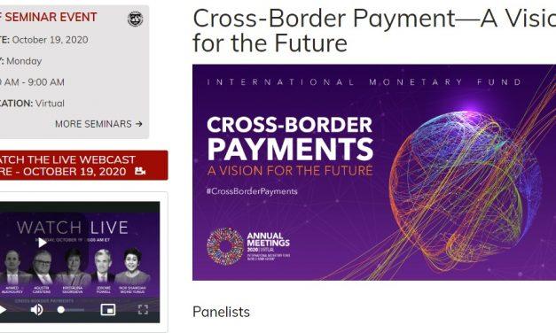 IMF 초국경 결제와 디지털 화폐 주제 세미나 개최 … 파월 연준 의장 등 참여