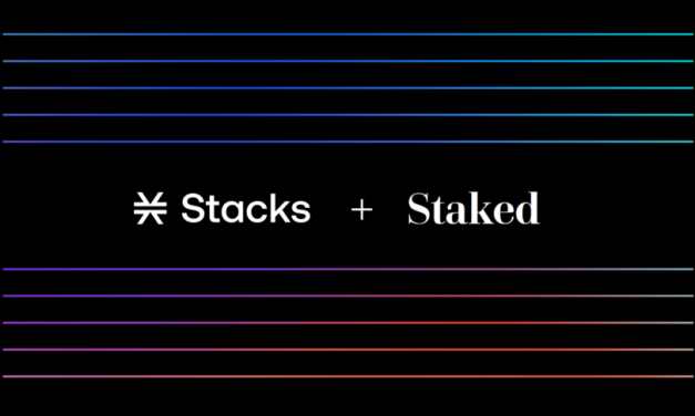 블록스택, 스테이크드와 협업…STX 예치하면 비트코인 받는다