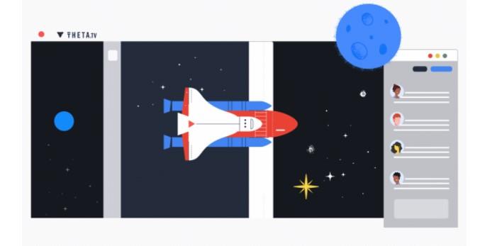 세타(THETA), 구글과 협력해 스페이스X 스트리밍 서비스 성공적 완료!