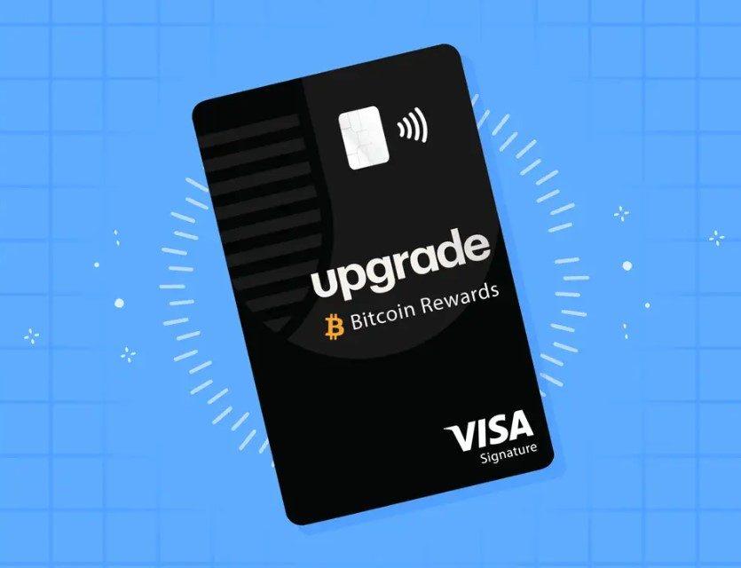 업그래이드, 구매액 1.5% 비트코인으로 보상하는 비자카드 출시