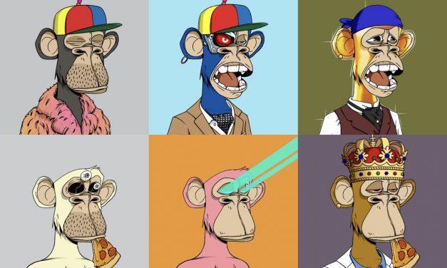 [JJ@블록미디어] 원숭이 캐릭터 NFT가 6천만원
