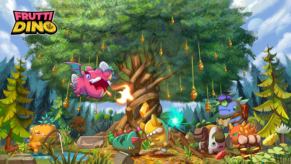 'Frutti Dino' maximizing the perfection of NFT games will be released