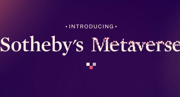 소더비, 이더리움 기반 NFT 마켓  '소더비 메타버스'로 디지털경매시장 진출