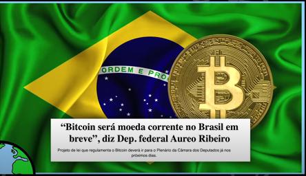 브라질에선 암호화폐가 미 주식 보다 인기 있는 투자 수단