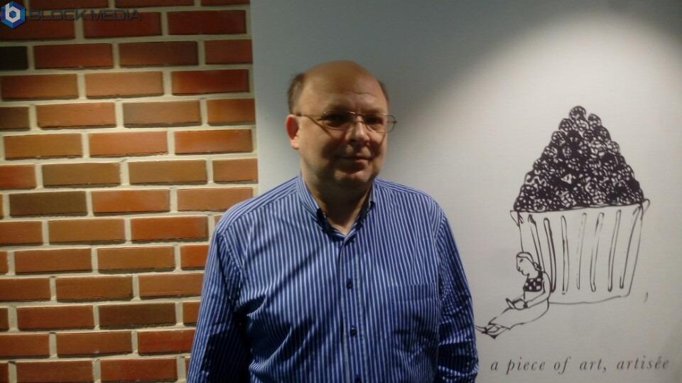 ▲24일 데이트코인의 CEO Nikita Anufriev(니키타 아누프라이브, 러시아)와 , Alexey Sinitsin(알렉시 시닛신, co-founder) 과 블록미디어가 인터뷰를 진행했다.