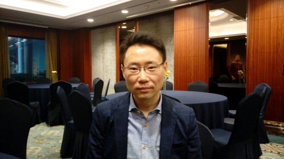 ▲블록미디어가 온톨로지의 리준 CEO와 인터뷰를 진행했다.